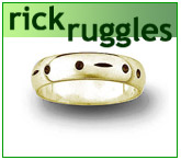 Handcrafted silver jewelry by Rick Ruggles
